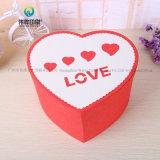 간단한 심혼 모양 저장 상자 선물 두꺼운 종이에 의하여 재생되는 종이상자