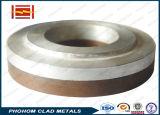 Cobre resistente al desgaste de piezas de acero revestido de bimetálica
