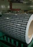 装飾的な大理石建築材料のためのパターンによって塗られるアルミニウムシートかコイル