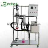 5 litres de laboratoire de vide de distillation de chemin court