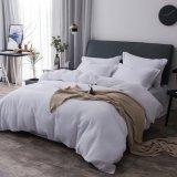 ホテルの寝具中国の純粋な綿のジャカードワッフルの寝具