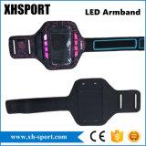 Caja del brazal del teléfono de los deportes del LED que activa para 4.7, 5.5 pulgadas