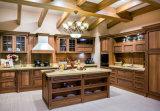2017 gabinetes de cozinha os mais atrasados da madeira contínua do estilo de América