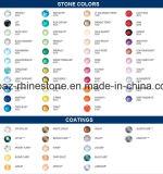 Rhinestone Flatback Rhinestone Swar более цветастый Burgundy Non Hotfix экземпляра вырезывания 2088 самый лучший Bling стеклянный (FB-17)
