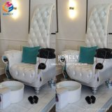 Custom Platform를 가진 Hly Wholesale Elegant White Classic Pedicure Chairs