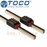 Ведущие брусья линейного движения линейные для подвергать механической обработке CNC