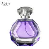 Frasco de perfume de cristal Polished da mão da alta qualidade