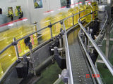 El aceite o fluido viscoso de la máquina de llenado automático