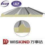 Metalldach-und -wand-Zwischenlage-Panel der Wärmeisolierung-umweltfreundliches Polyurethane/PU