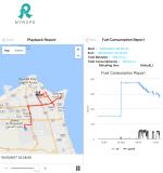 Tempo Real remotamente Vehicle Tracking System Platform Software de GPS