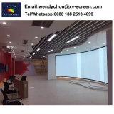 Scherm van de Projectie van het Frame van het Huis van Xyscreen 200inch het Bioskoop Gebogen