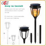 Lampadine LED del LED che illuminano l'indicatore luminoso solare della torcia dell'indicatore luminoso solare della fiamma dei 96 LED