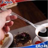 Jx145 Black&Transparent ha glassato il cucchiaio di caffè a gettare della maniglia utilizzato in caffetteria
