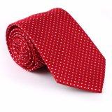 Cravate tissée par polyester à la mode neuf de modèle (50974-1)