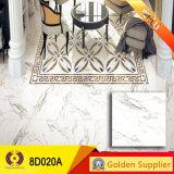 azulejo de piedra de mármol de los azulejos de suelo de la porcelana de la inyección de tinta de 800*800m m (8D017A)