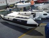 Liya 4.3meter 6 Personen-aufblasbares Katamaran-Hochgeschwindigkeitsboots-Verkauf