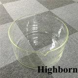 큰 크기 투명한 붕규산 유리 비커