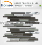 Hotel Decor Pattern Aluminum Tile Wholesale Congregation Strips Glass Mosaic