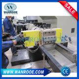 Plastique simple de film de PE de la vis pp réutilisant la machine de pelletisation