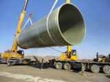 Fabbricare tutti i generi di tubi di FRP GRP che trasportano il liquido o il gas
