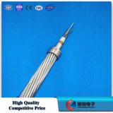 Fil de terre composé de fibre optique (structure excentrique B-03 de tube d'OPGW)