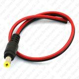 Contactdoos van de Macht van gelijkstroom de Mannelijke Jack Connector Cable Wire CCTV Camera 12V 5.5X2.1mm
