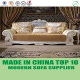 ヨーロッパの革カバー標準的なソファーの家具を切り分ける卸し売りカシ木
