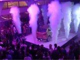 特別なLEDの二酸化炭素のジェット機機械段階効果