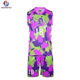 Ropa deportiva barata mejor uniforme de Baloncesto el baloncesto Jersey camisetas de baloncesto de la Juventud de diseño
