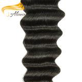 Длиннее человеческие волосы Remy человека 100% Remy малайзийские