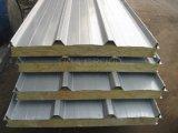 """La construction préfabriquée autoguide le matériau de toit/a ridé le panneau """"sandwich"""" de laines de roche"""