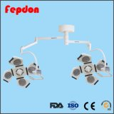 Lámpara LED de doble cabeza Shadowless funcionamiento operativo de la lámpara (YD02-LED4+4)