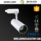 Lumière blanche de piste du créateur extérieur affleurant DEL de support, nécessaire DEL d'éclairage de piste de projecteur