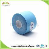 Una muestra gratis el algodón resistente al agua y Flexible El Athletic cinta Kinesiología