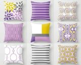 Decorativo ou prático Descanso-Cobrir com os materiais de linho da fibra