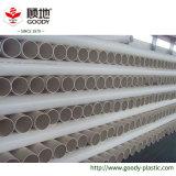Installation solide d'attenuation de bruit de pipe d'évacuation de PVC-U
