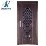 Moderno diseño de una sola puerta frontal de hierro