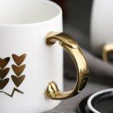 Ins tasses en céramique nordiques tasse à café de grande capacité de création d'art simple tasse de bureau avec couvercle