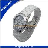 Al Zwart Unisex- Ceramisch Polshorloge van het Horloge van het Kwarts