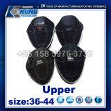 Холстина верхнее Vamp джинсыов способа для вспомогательного оборудования обуви