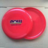 Logotipo personalizado de plástico impreso Frisbee con marca OEM para promoción