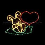 [فولّ كلور] رقيق حبل ضوء خارجيّ عيد ميلاد المسيح زخارف حبل ضوء
