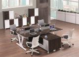 Combination Duurzaam Modern Vernisje 4 van de Melamine de Verdeling van het Werkstation van Zetels