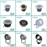 Hot Sale IP67 enterrés de jardin d'éclairage à LED