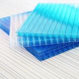 Panneau en plastique de feuille claire de polycarbonate pour le panneau de Chambre verte