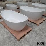 Banheira autônoma da pedra interna da resina da mobília do banheiro