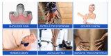 Onda de choque el equipo de terapia de alivio rápido dolores en el cuerpo
