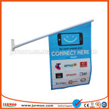 Venta caliente 440gsm ecológica la bandera de PVC de pared