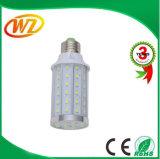 Lumière employée couramment de maïs de la vente chaude E27 10W DEL