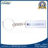 Keyring modificado para requisitos particulares del metal de la suposición del diseño para hacer publicidad